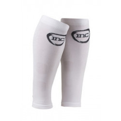 INC Competition Compressie Calf Sleeves flash Class 1 (15-21 mmHg) wit