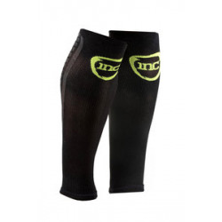 INC Pro Compressie Calf Sleeves wit / zwart Class 2 (23-32 mmHg) zwart/groen