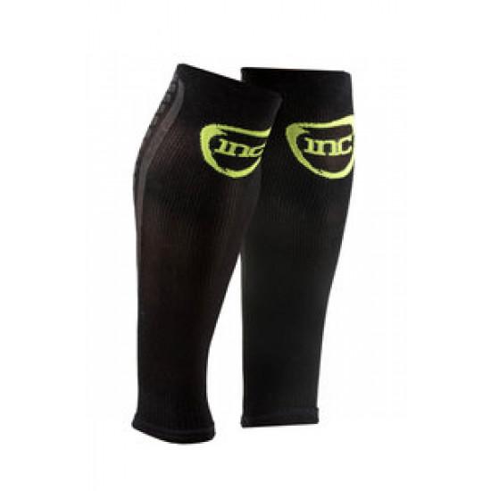 INC Pro Compressie Calf Sleeves wit / zwart Class 2 (23-32 mmHg) zwart/groen