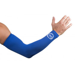INC Competition Compressie Armsleeves flash Class 1 (15-21mmHg) royal blauw