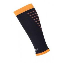 Horizon Calf sleeves compressie sleeves zwart/oranje