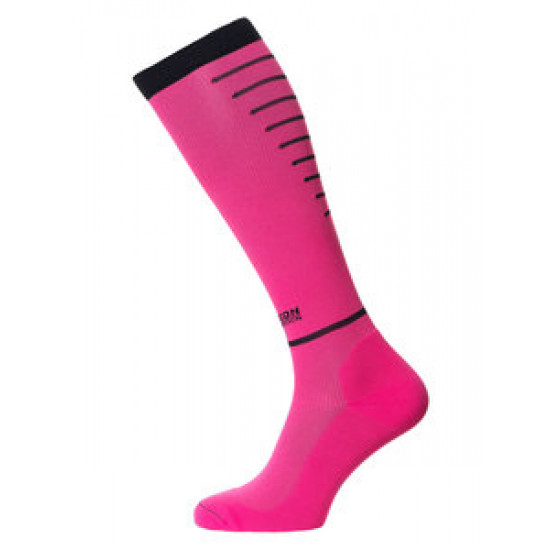 Horizon sport compressiekousen roze