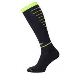 Horizon sport compressiekousen zwart/groen