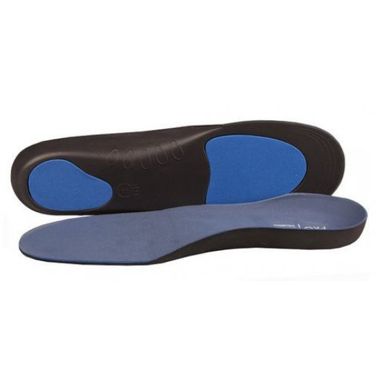Pro II orthotic insoles with metatarsal pad and arch support