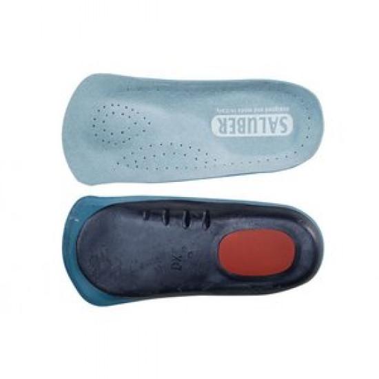 Saluber 3/4 Premium Medical Inlegzool – Voorvoet- & voetboogondersteuning