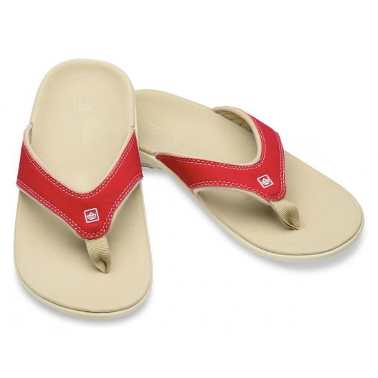 Spenco Slippers true red, dames
