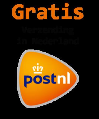 Footstore levert gratis in Nederland via PostNL, Voor België en andere landen vragen wij € 2,50 euro verzendkosten.